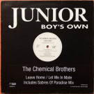 The Chemical Brothers - Leave Home - Virgin - CHEMSTDJ 1