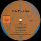 Mr. Fingers - Mr. Fingers 2016 - Alleviated Records - ML-2231