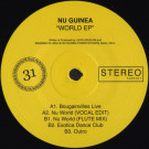 Nu Guinea - World EP - Tartelet Records - TART031