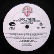 Juliet Roberts - Another Place, Another Day, Another Time - Slam Jam Records - 0-40321, Eternal - 0-40321, Warner Bros. Records - 0-40321