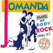 Jomanda - Make My Body Rock (Feel It) (The Exclusive U.S. Remix) - RCA - PT 42750